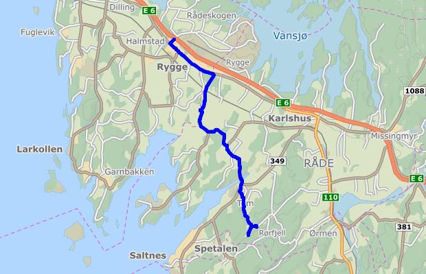 ruteplanlegger kart Ruteplanlegger ruteplanlegger kart